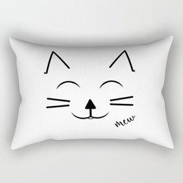 Happy Cat Rectangular Pillow