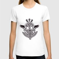 ethnic T-shirts featuring Ethnic Skull by haidishabrina