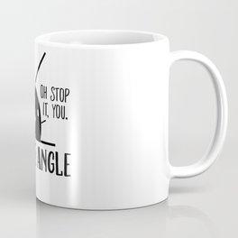 Acute Angle Math Pun Coffee Mug