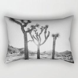 Three Brothers of Joshua Tree Rectangular Pillow