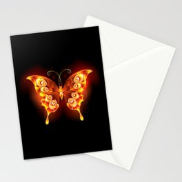 Fire Butterfly Peacock Stationery Cards