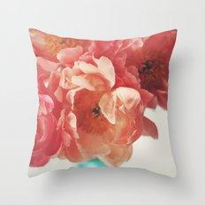 Paeonia #5 Throw Pillow