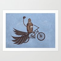 Tally-Ho! Art Print