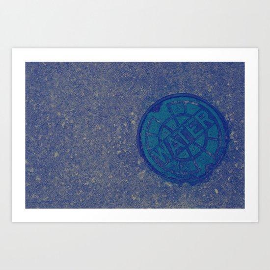 Agua Anyone?  Art Print