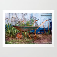 In the Magical Garden Art Print