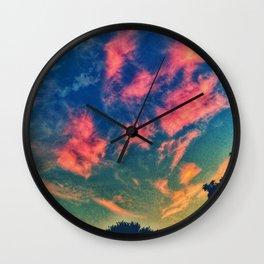 Brustroke Sky Wall Clock