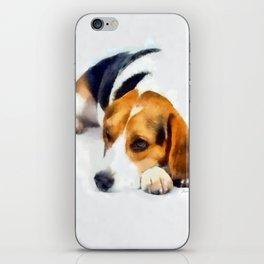Beagle Bailey iPhone Skin
