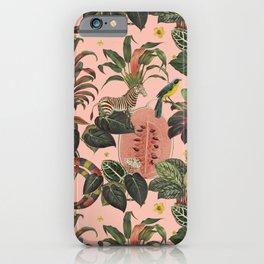 Pink Jungla iPhone Case