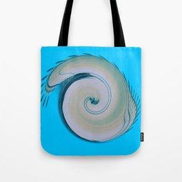 Blue Spira  Tote Bag