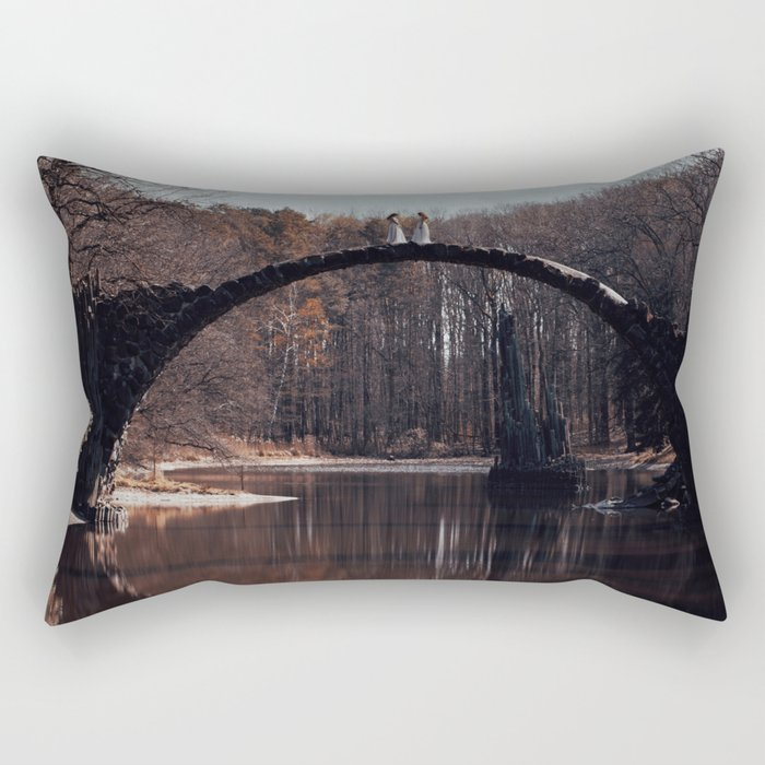 What you see is not what it seems Rectangular Pillow