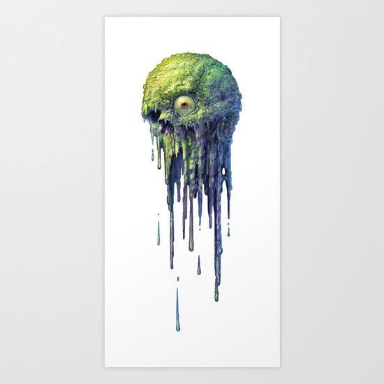 Slime Ball Art Print