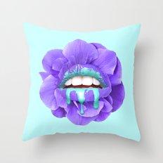 VIOLET KISS Throw Pillow