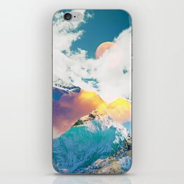 Dreaming Mountains iPhone Skin