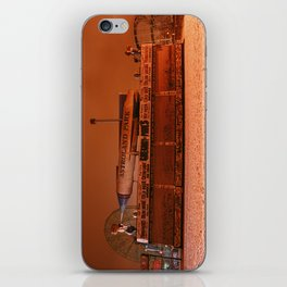 Coney Island - Gregory & Pauls in the winter iPhone Skin