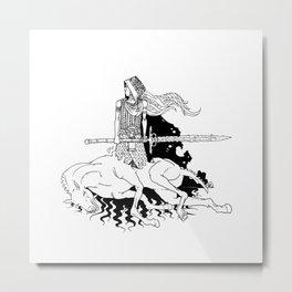 Deidra Thunderfist Metal Print
