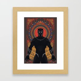The Panther Framed Art Print