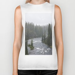 Yellowstone Forest - Nature Photography Biker Tank