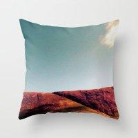 fault Throw Pillows featuring fault. by zenitt