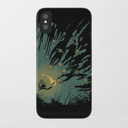 Zombie Shadows iPhone Case