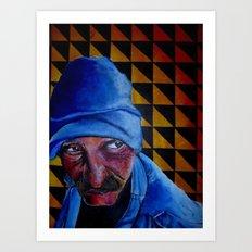Homeless. Art Print