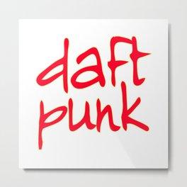 daft punk t-shirt Metal Print