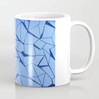blueprint Mugs featuring BluePrint by Elina Larsson