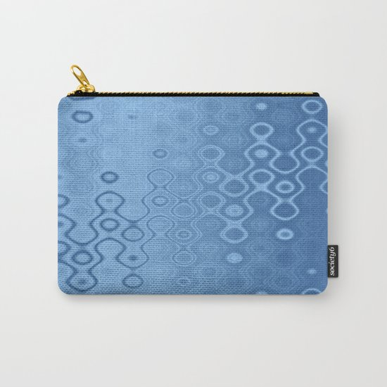 Lost in Dots (air & water blues) Carry-All Pouch