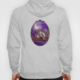 Owls in love Hoody