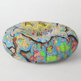 SuperSonicSun Floor Pillow