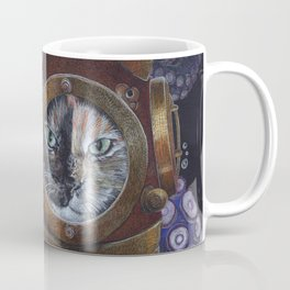 Deep Sea Diving Cat Coffee Mug
