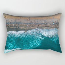 Golden View at Ponto Beach Rectangular Pillow