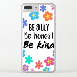be silly Clear iPhone Case