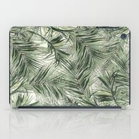palms iPad Cases featuring palms by .eg.