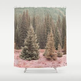 Look For Me In The Trees Shower Curtain