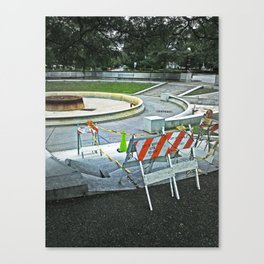 Nickel City Progress Canvas Print