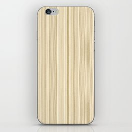 Maple Wood Surface Texture iPhone Skin