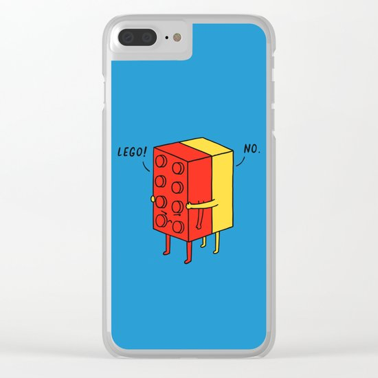 Le go! No Clear iPhone Case