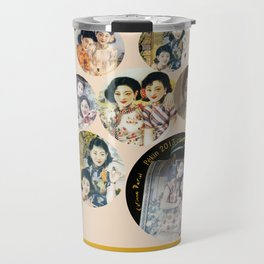 Beijing 6576 Asian vintage atmosphere with women Travel Mug