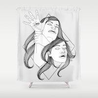 fullmetal alchemist Shower Curtains featuring The Alchemist Sisters by Nicostman