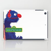 sesame street iPad Cases featuring Sesame Beats by DuverneB