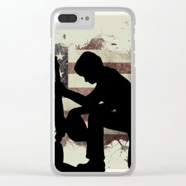 The Cost of Freedom Clear iPhone Case