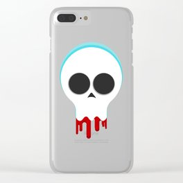 Clique Skull Clear iPhone Case