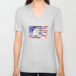 Bald Eagle Unisex V-Neck