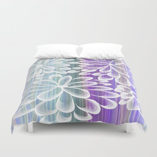 Fancy Floral Duvet Cover