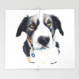 Kelpie Dog Throw Blanket