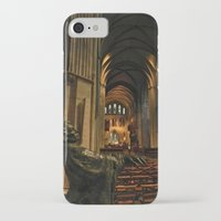 patrick iPhone & iPod Cases featuring saint patrick by Lisa Carpenter