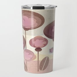 Flowers en Rose Travel Mug