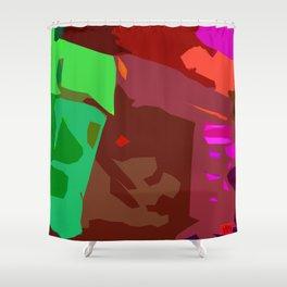 The Junkyard Shower Curtain