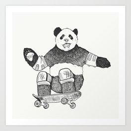 Rad Panda Art Print