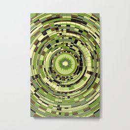 kiwi Kawai Metal Print